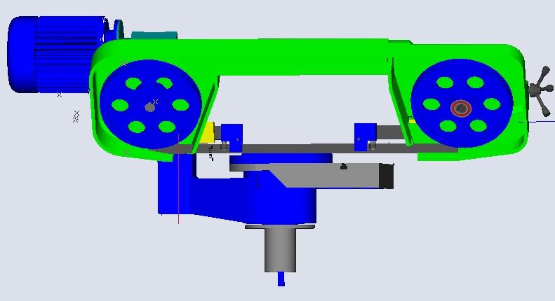 fabrication d'une scie a ruban pour métaux D06