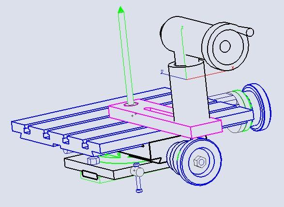 Dispositif ornemental pour tour a bois Sphj001