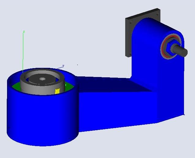 fabrication d'une scie a ruban pour métaux - Page 4 Pivot