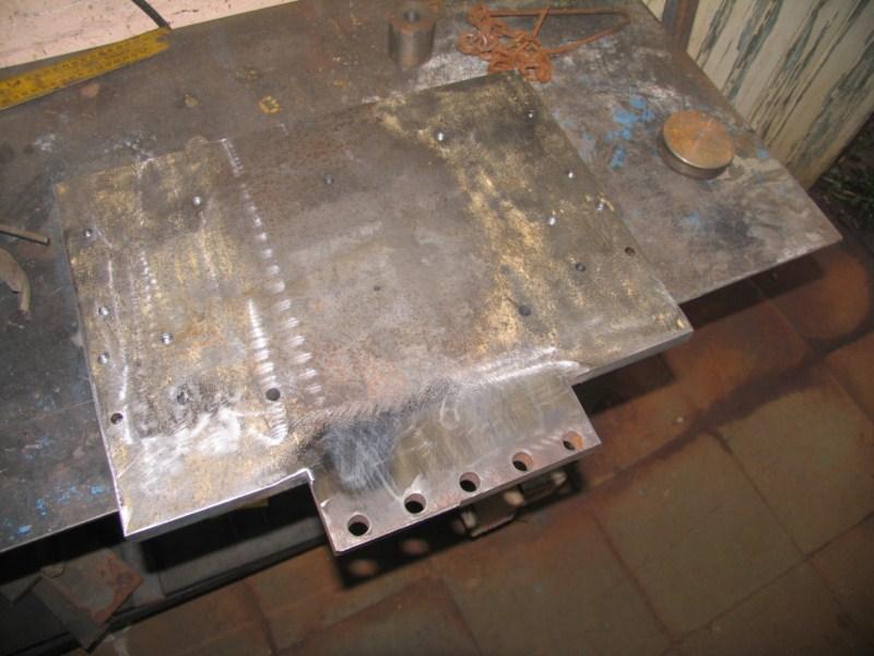 fabrication d'une scie a ruban pour métaux - Page 5 Scm111
