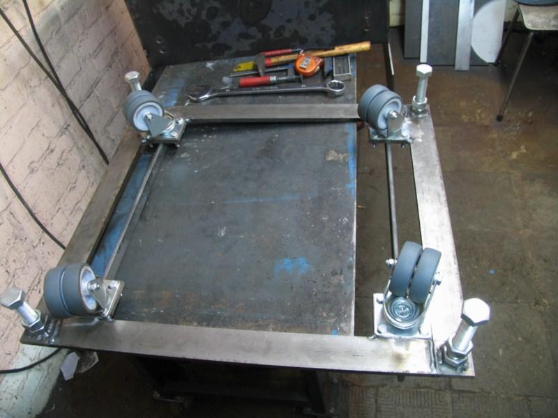 fabrication d'une scie a ruban pour métaux - Page 2 Scm12