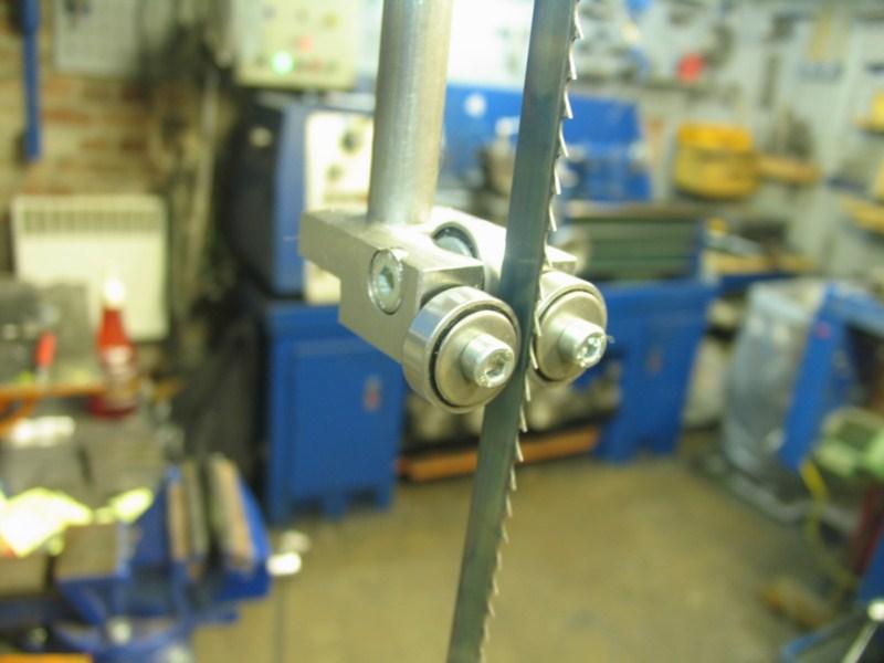 Remise en état d'une petite scie à ruban Sc24
