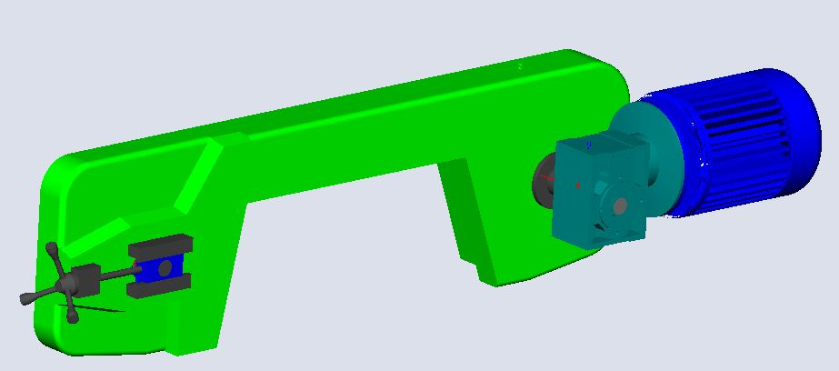 fabrication d'une scie a ruban pour métaux D02