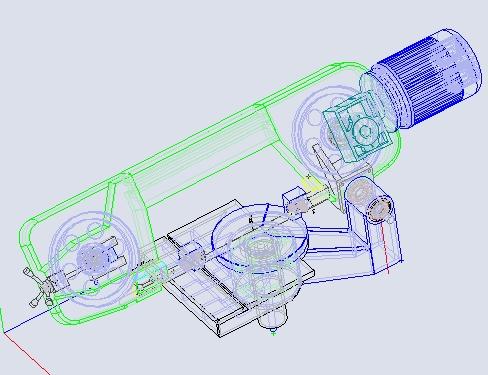 fabrication d'une scie a ruban pour métaux D07