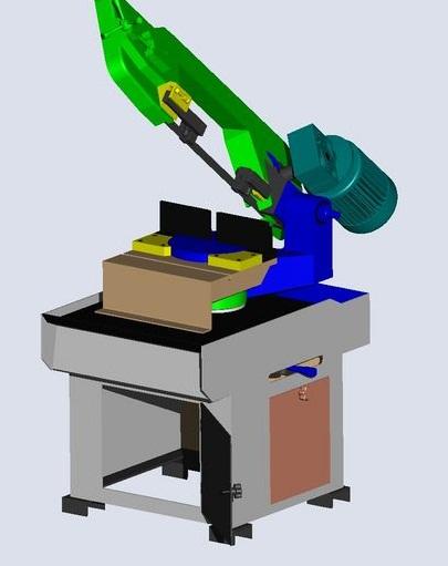 fabrication d'une scie a ruban pour métaux D11