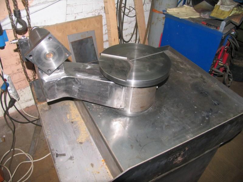 fabrication d'une scie a ruban pour métaux - Page 5 Scm100