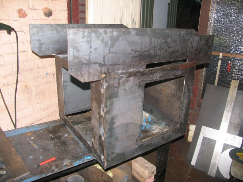 fabrication d'une scie a ruban pour métaux - Page 2 Scm11