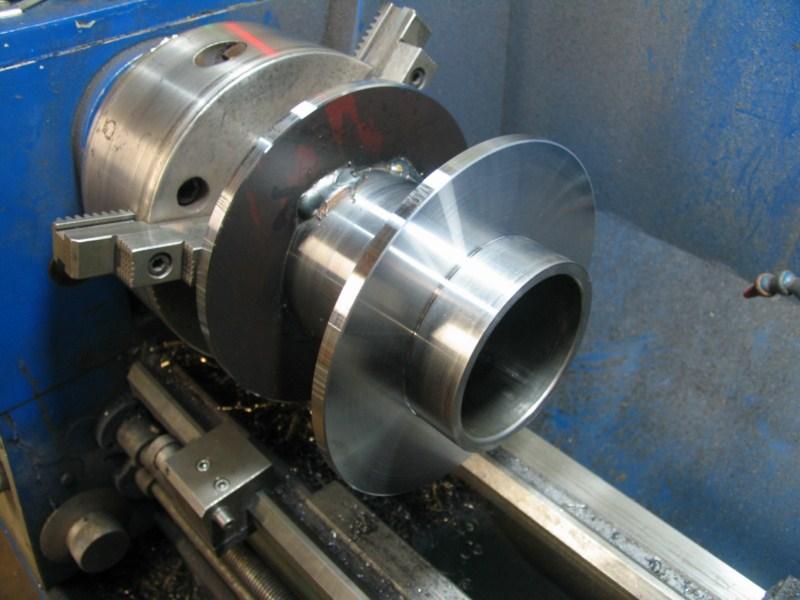fabrication d'une scie a ruban pour métaux - Page 3 Scm45