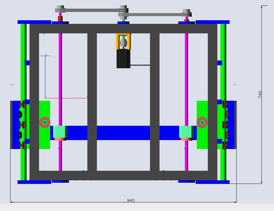 Enfin mon projet CNC Pcnc001