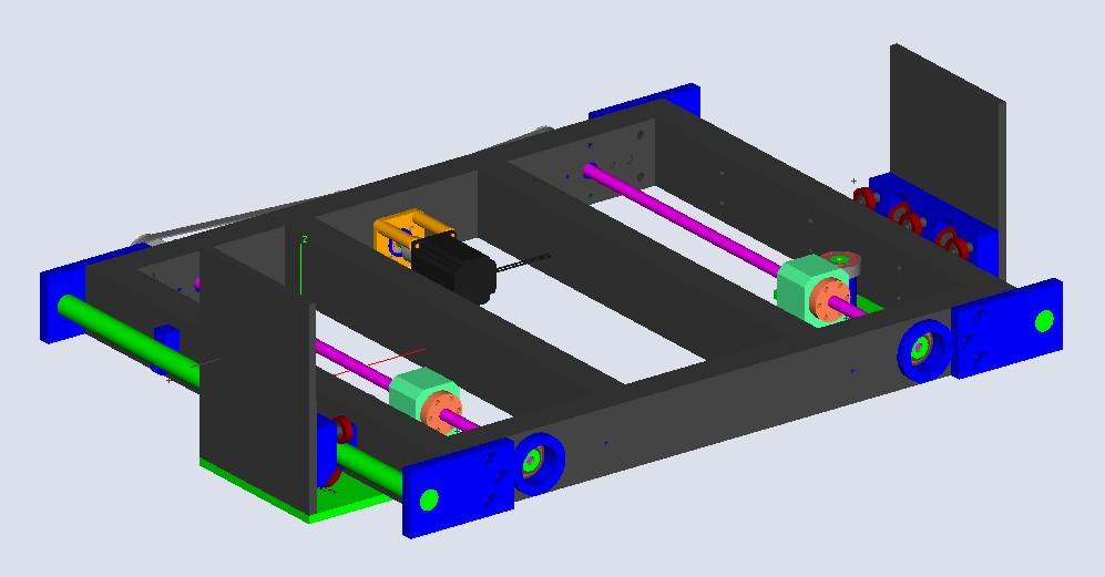 Enfin mon projet CNC Pcnc002