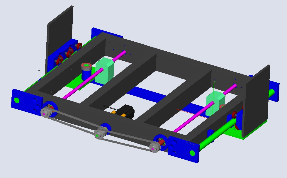 Enfin mon projet CNC Pcnc003