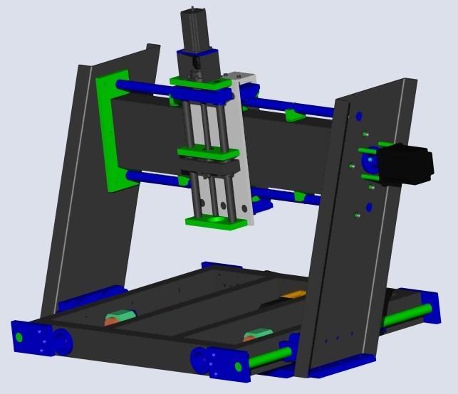 Enfin mon projet CNC Pcnc005