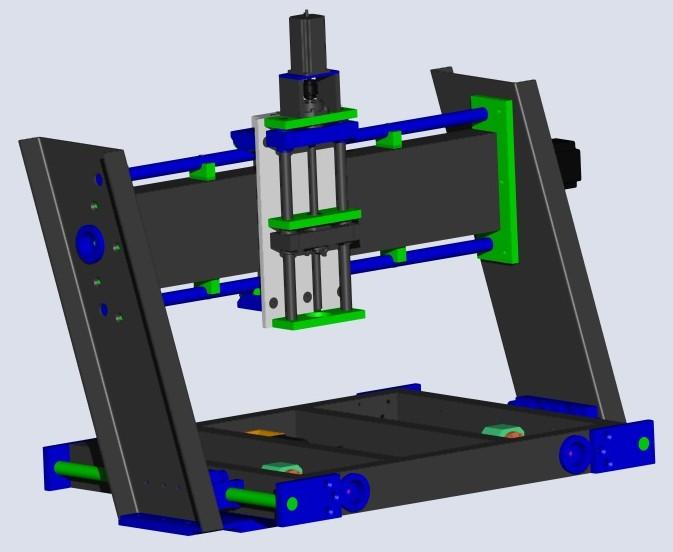 Enfin mon projet CNC Pcnc006