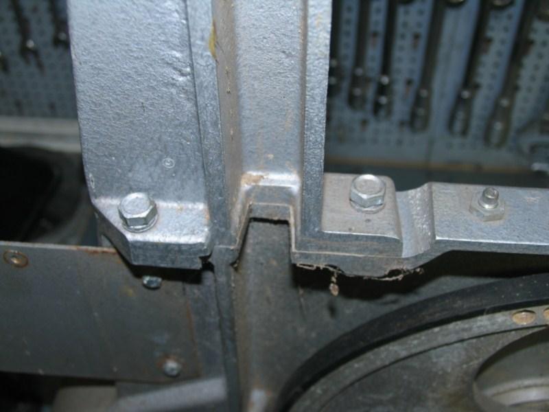 Remise en état d'une petite scie à ruban Sc04