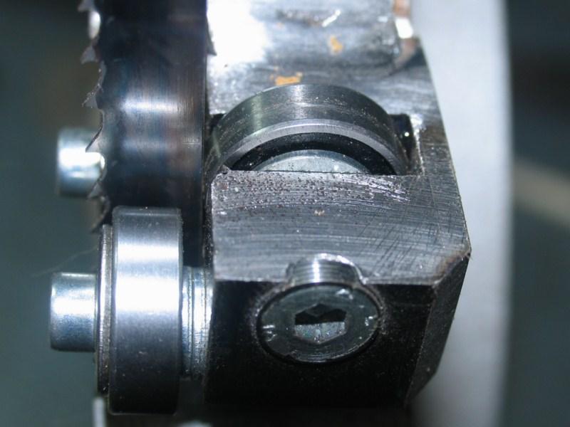Remise en état d'une petite scie à ruban Sc15