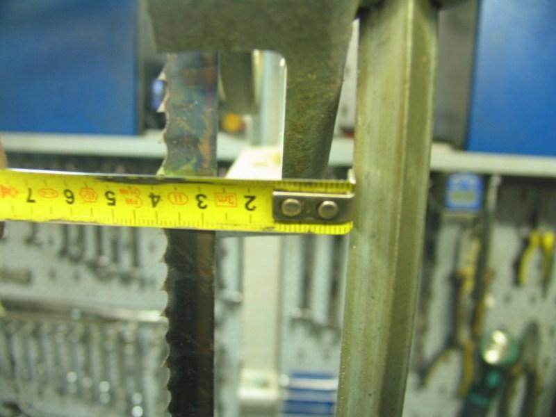 Remise en état d'une petite scie à ruban Sc17