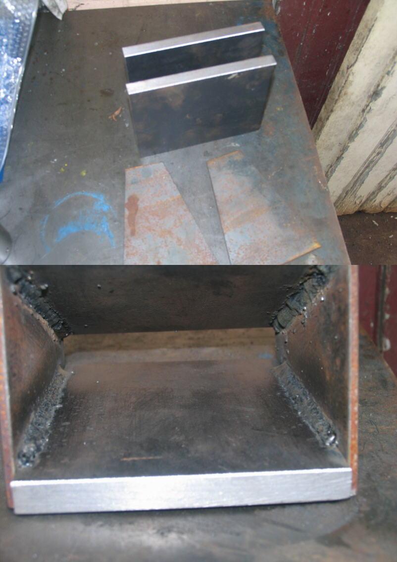 Fabrication d'un tour à bois Tp039s