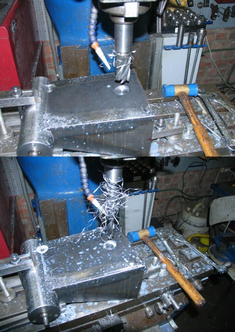 Fabrication d'un tour à bois Tp054s