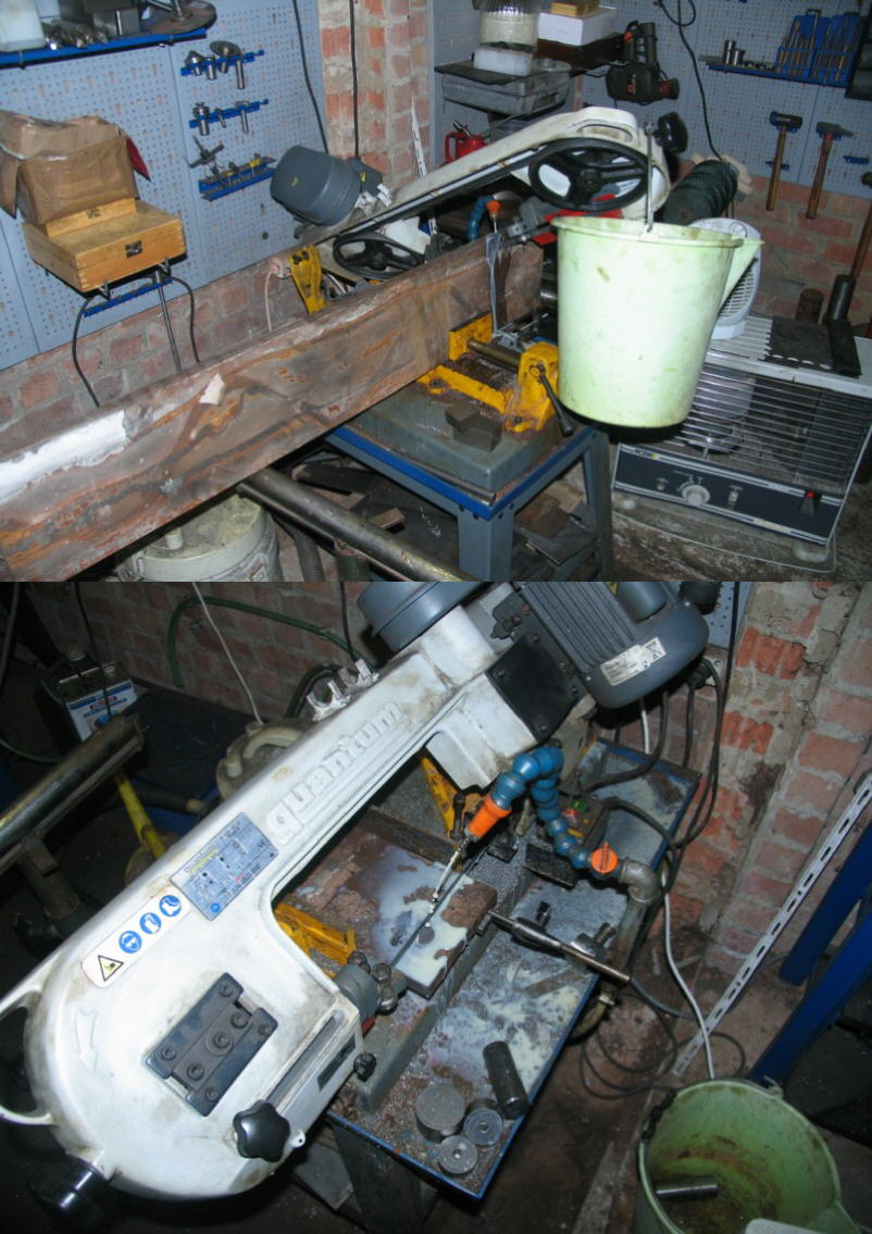 Fabrication d'un tour à bois Tp063s