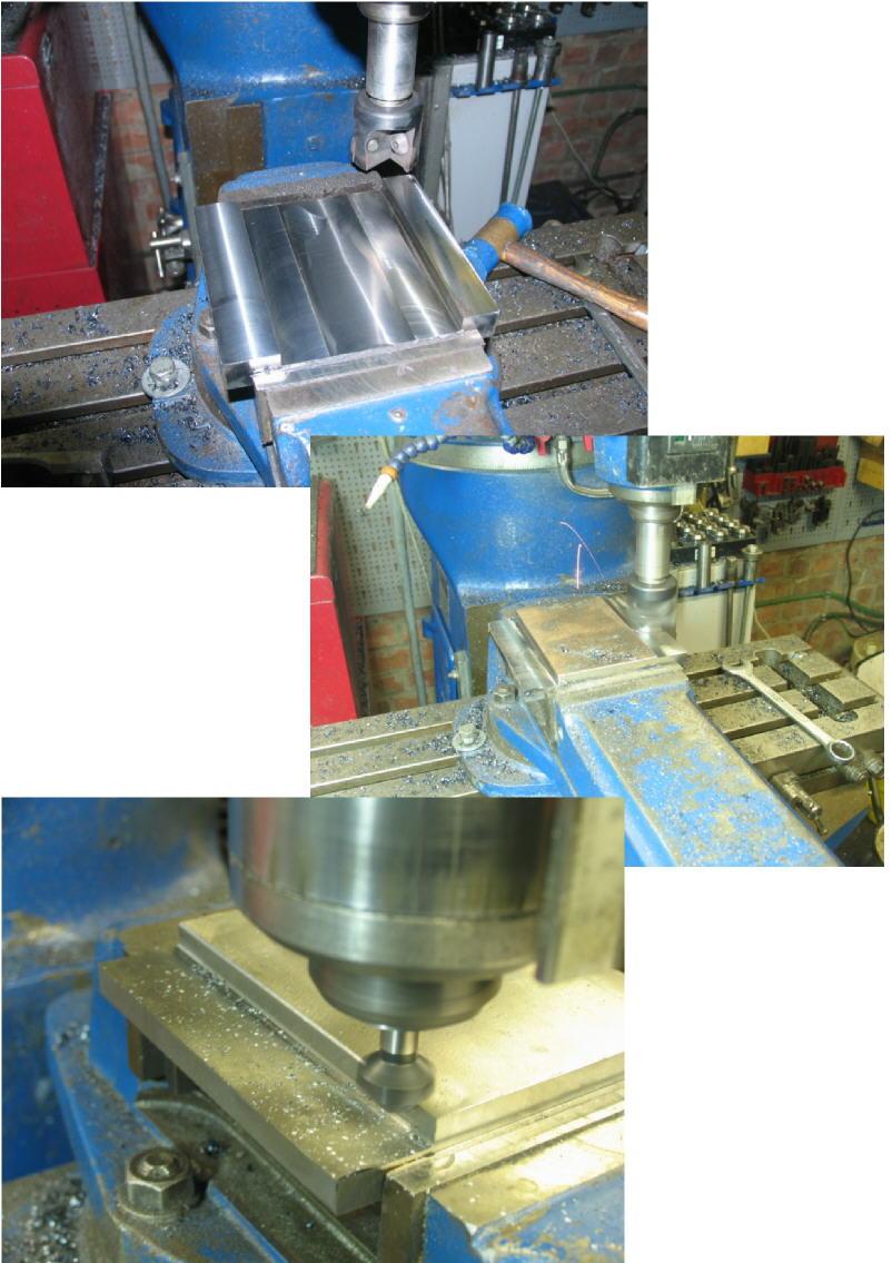 Fabrication d'un tour à bois Tp068s