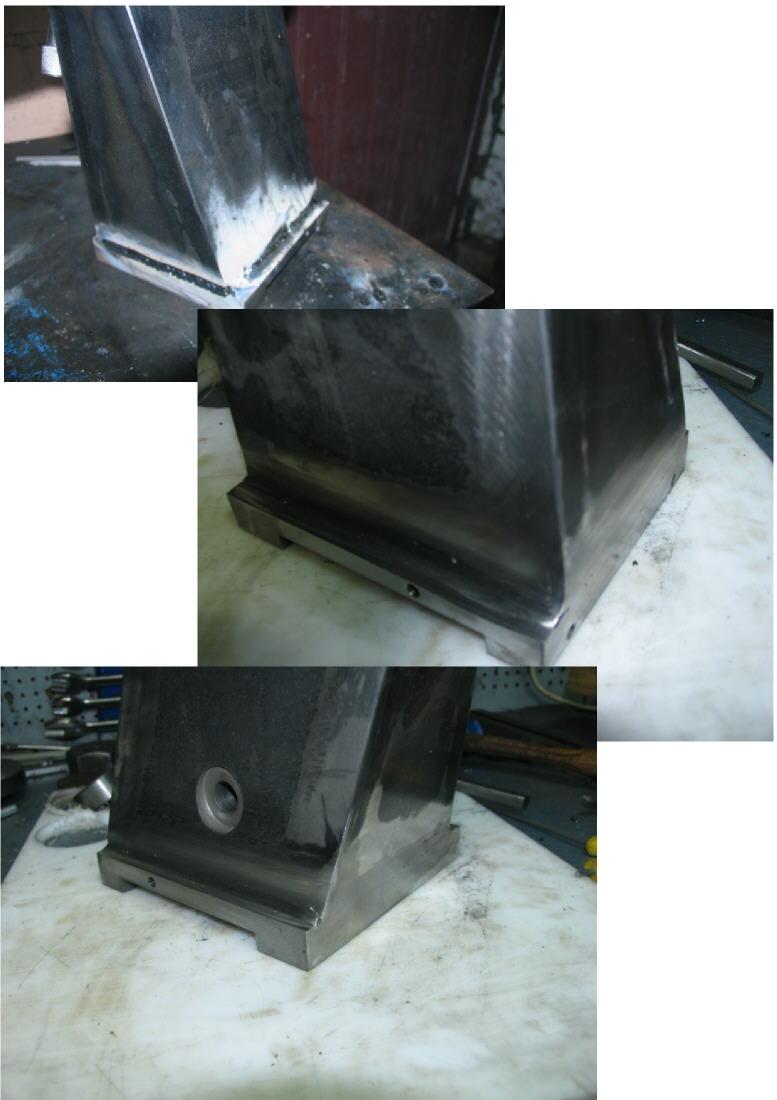 Fabrication d'un tour à bois Tp076s