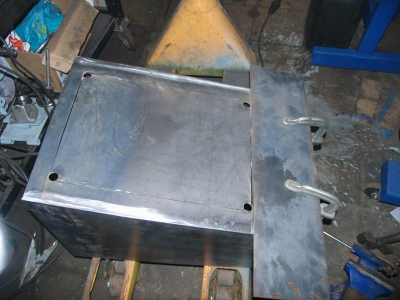 Fabrication d'un tour à bois Tp090