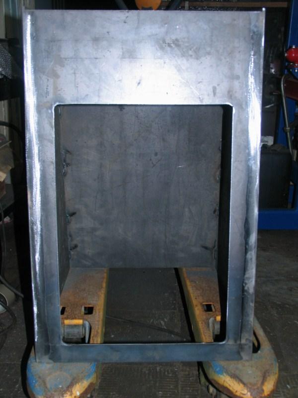 Fabrication d'un tour à bois Tp091