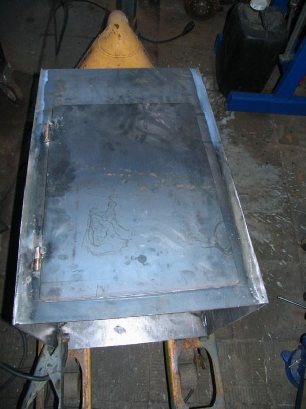 Fabrication d'un tour à bois Tp093