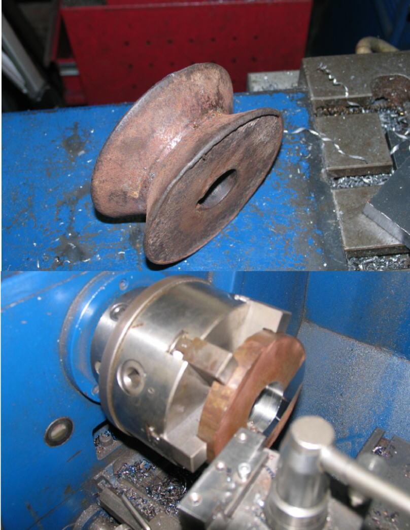 Fabrication d'un tour à bois - Page 2 Tp135a