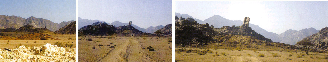 Arheoloski ponalasci kod planine Sinaj.    Sinaj04