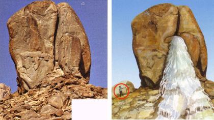 Arheoloski ponalasci kod planine Sinaj.    Sinaj06