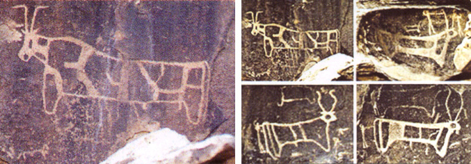 Arheoloski ponalasci kod planine Sinaj.    Sinaj19