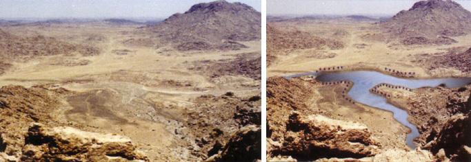 Arheoloski ponalasci kod planine Sinaj.    Sinaj23