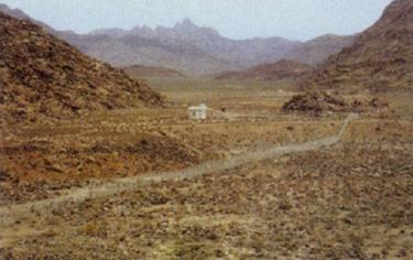Arheoloski ponalasci kod planine Sinaj.    Sinaj31