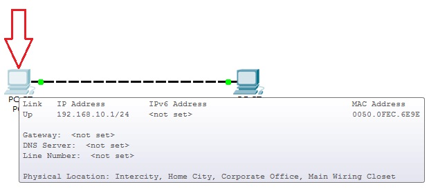[Redes] Cisco Packet Tracer Fig_1.3