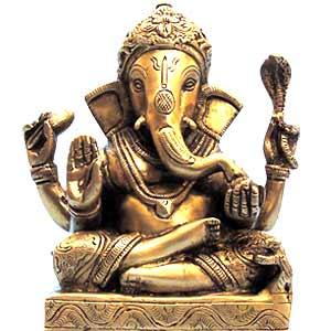 Indijsko vajarstvo Brass_choki_ganesha