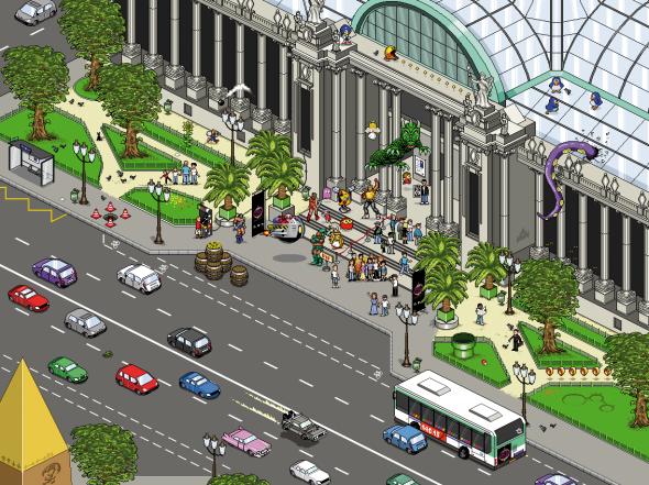 Expo au Grand Palais à Paris Gamestory1