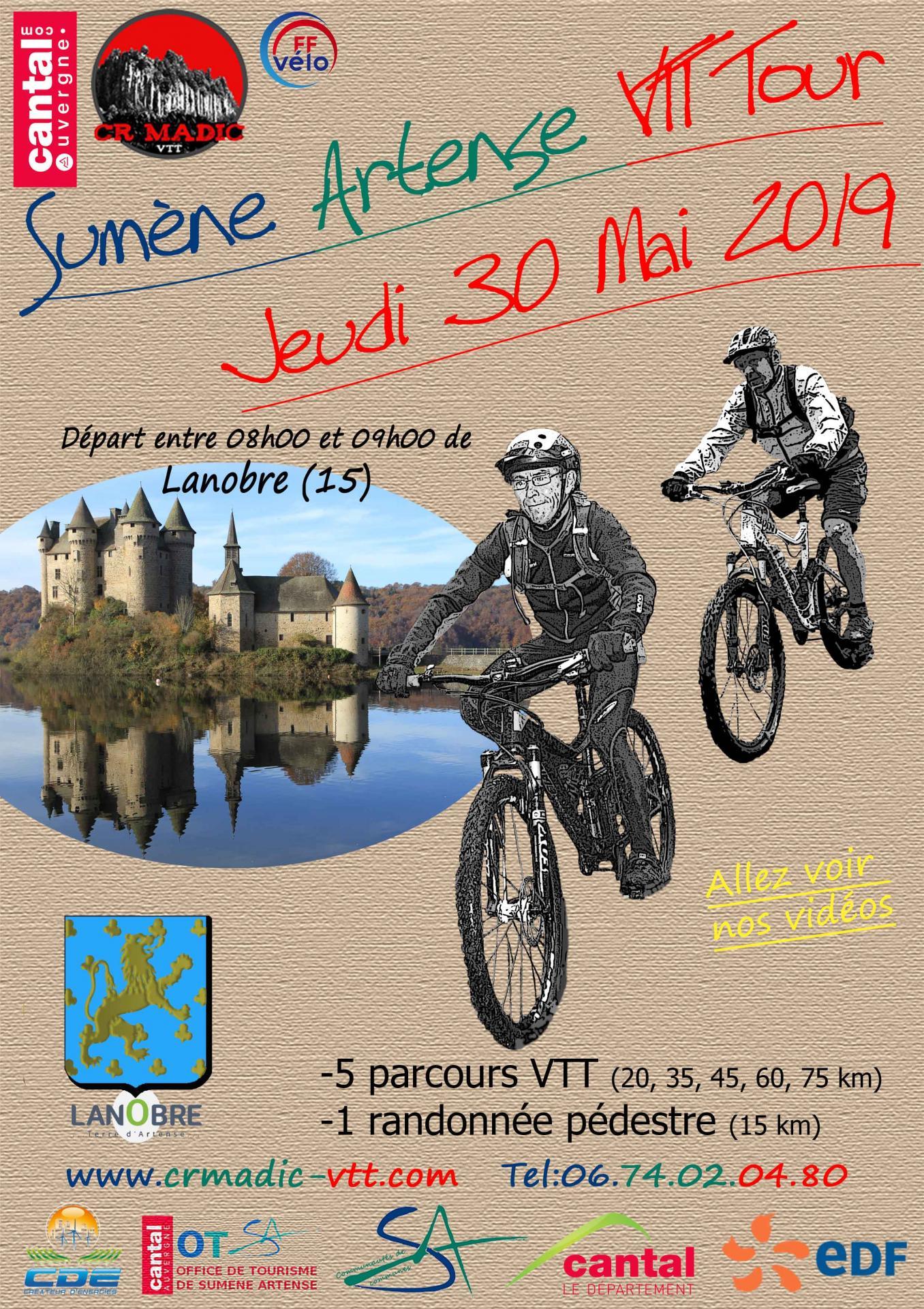 SUMENE ARTENSE VTT -LANOBRE (15) le Jeudi 30 mai 2019 2019-affiche-savtt-tour-v1-300-dpi