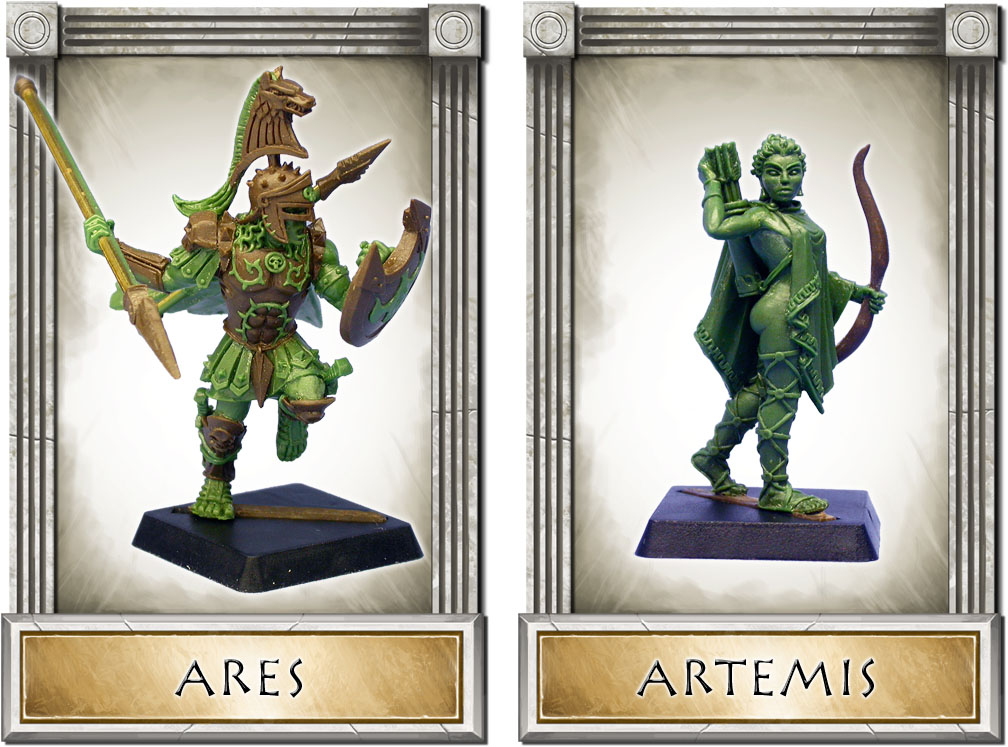 Wargods of Olympus 4Ares-Artemis-Large