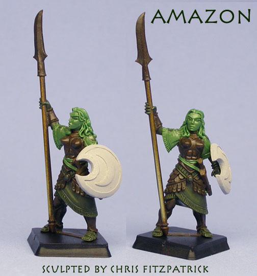 Wargods of Olympus AmazonGreen-mailer