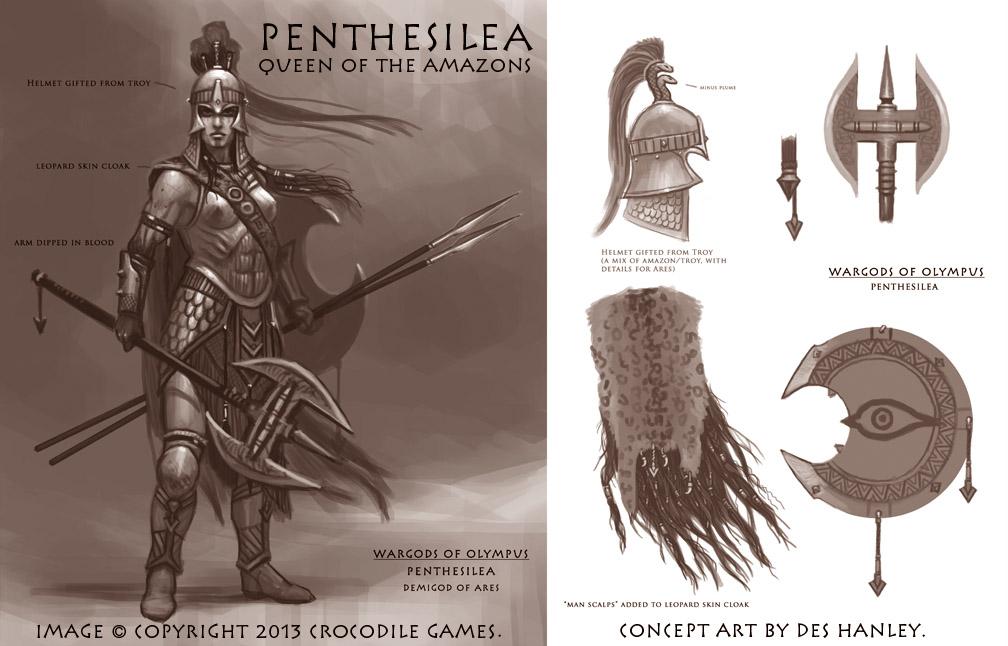 Wargods of Olympus Penthesilea-large