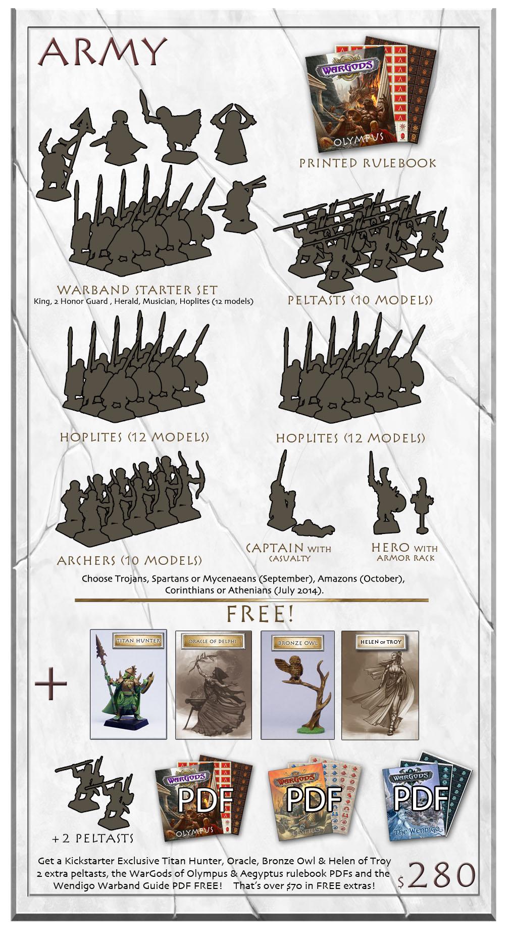 Wargods of Olympus RewardArmy-Large
