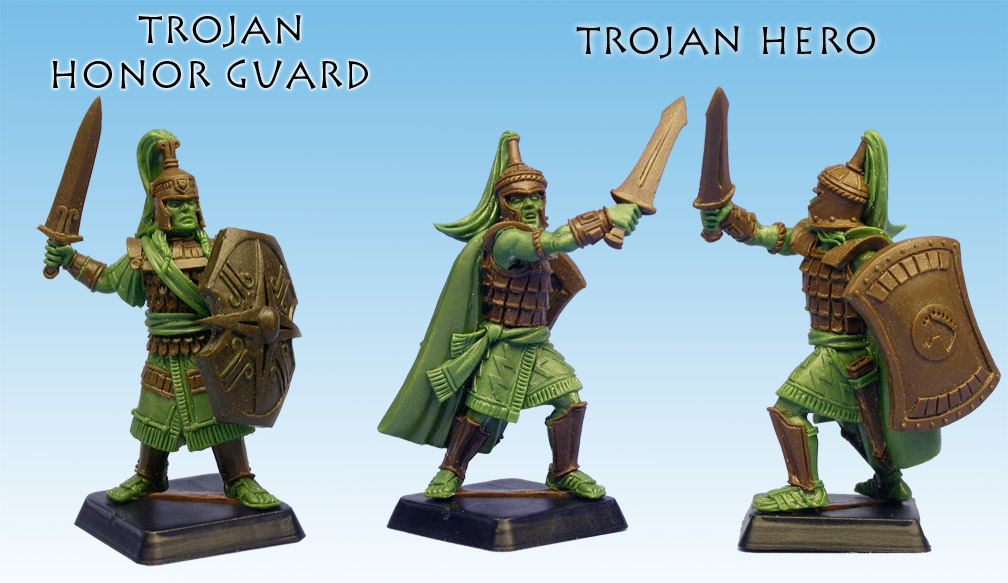 Wargods of Olympus TrojanHonorGuardHero