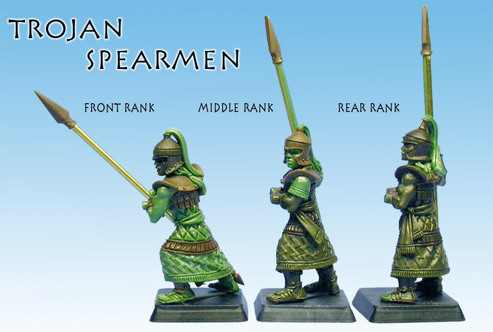 Wargods of Olympus TrojanSpearmen