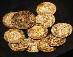 Hallan 48 monedas de oro de un galeón español en Florida 2013-07-15_03-07-45___8587