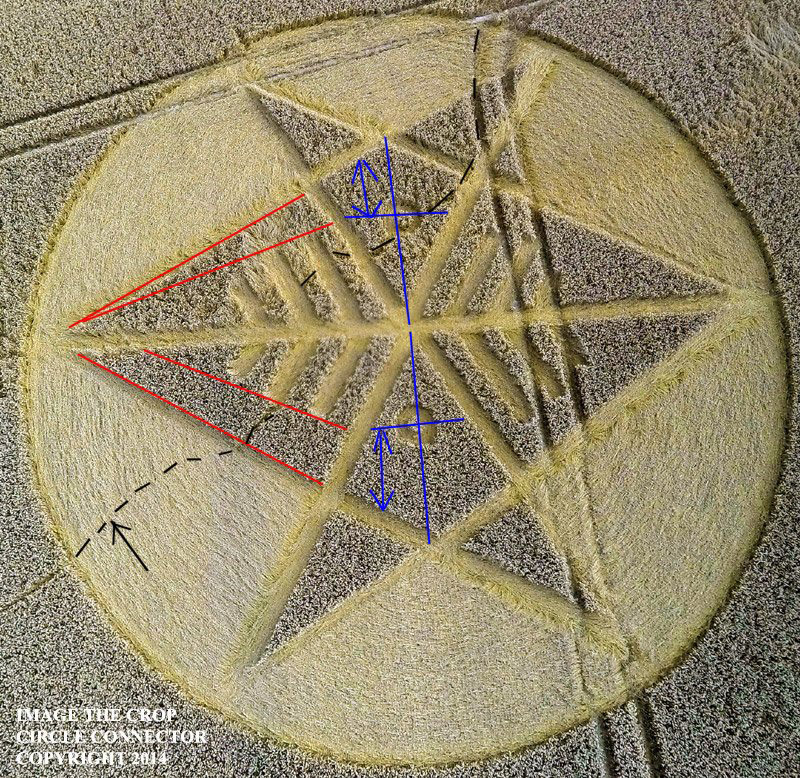 Crop Circle at Ironwell Lane, nr Stroud Green, Essex, United Kingdom. Reported 24th August  2014 G0056018bbb_01