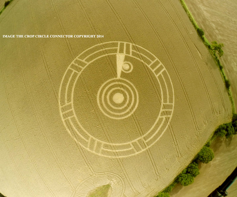 CROP CIRCLE UPDATE : the spirit lives on Arklane2014E