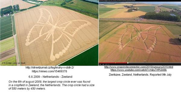"""Crop circle : Comment des youtubeurs ont berné des """"experts"""" en extraterrestres 2015-07-09_Netherlands_Zier"""
