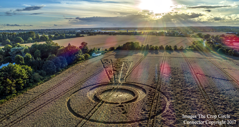 Crop Circle ~ Sutton Hall, Nr Rochford, Essex.  DJI_0010