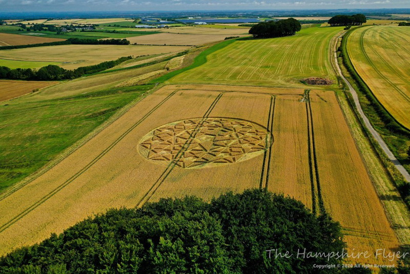 crop circles 2020 - Page 2 Hampshire23072020f